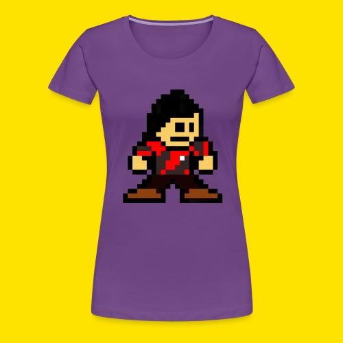 Kuna Mega Man Logo Unisex Tie-Die - Women's Premium T-Shirt