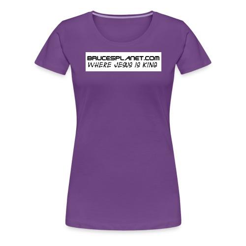 BrucesPlanet Simple - Women's Premium T-Shirt