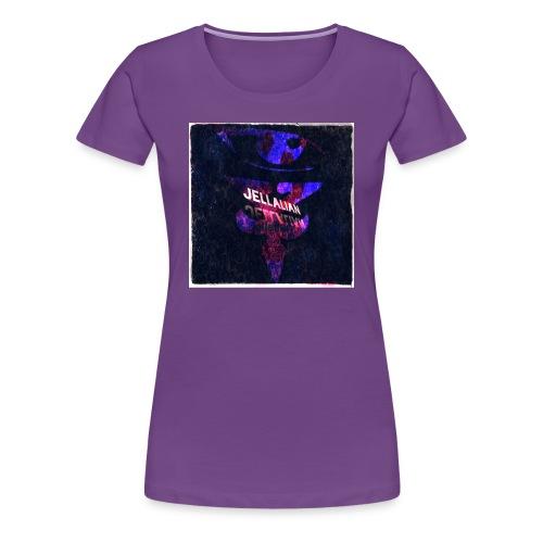 JELLALIAN OFFICIAL(COLOR BLAST EDITION) - Women's Premium T-Shirt