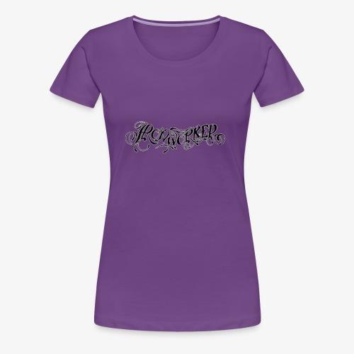 Ironworker Tattoo Style - Women's Premium T-Shirt