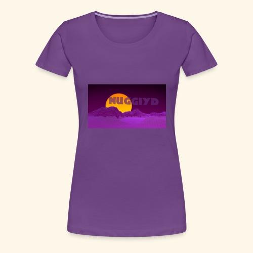 purple boy shirt - Women's Premium T-Shirt