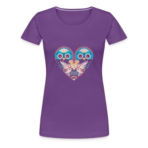 hearts of owls - Women's Premium T-Shirt