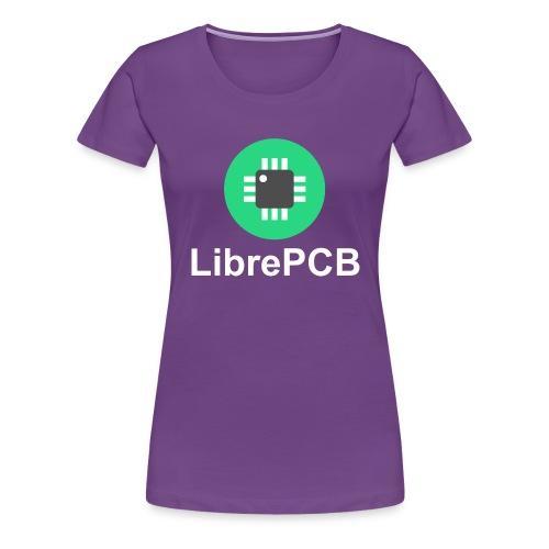 Logo+Text - Women's Premium T-Shirt