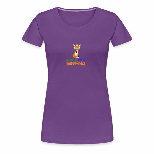 GEEK FOX BRAND - Women's Premium T-Shirt