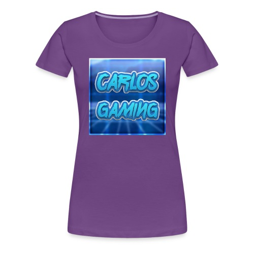 Carlos Gaming merchandise - Women's Premium T-Shirt