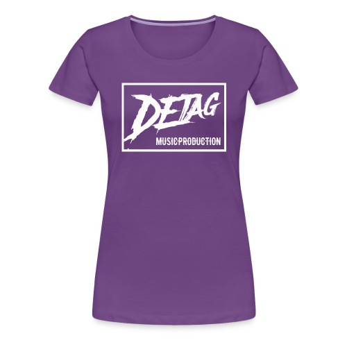 DETAG Logo transparent - Women's Premium T-Shirt
