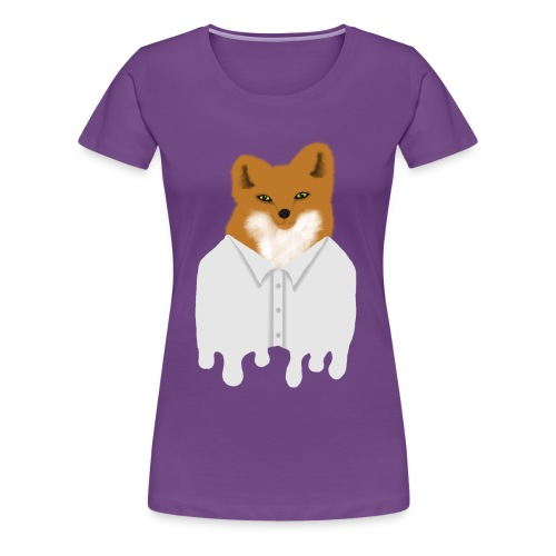 Fancy Fox - Women's Premium T-Shirt