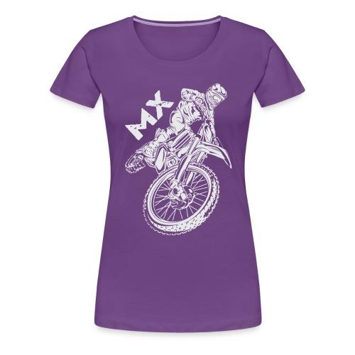 Motocross MX Rider - Women's Premium T-Shirt