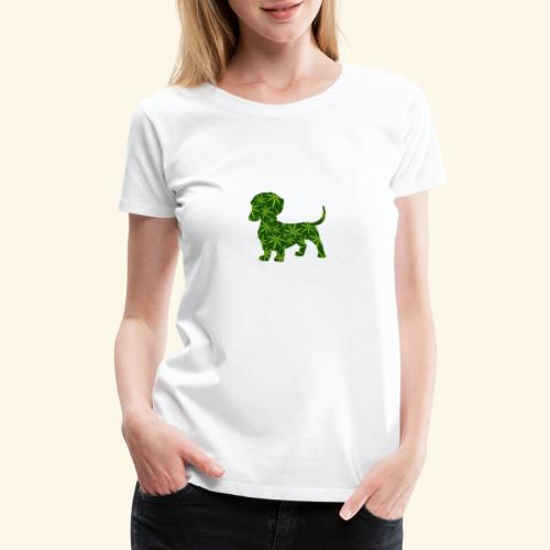 PUFFY DOG - PRESENT FOR SMOKING DOGLOVER - Women's Premium T-Shirt