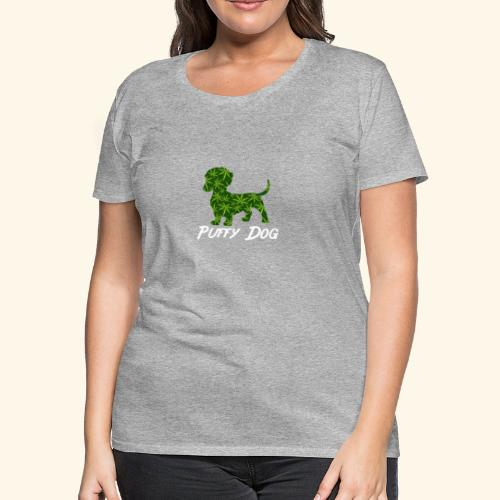PUFFY DOG - PRESENT FOR SMOKING DOGLOVER - Women's Premium T-Shirt