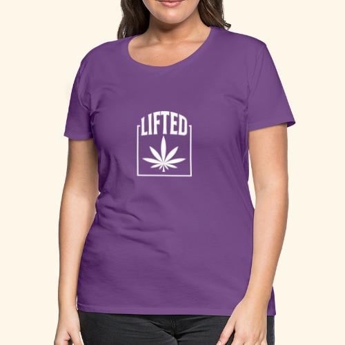 LIFTED T-SHIRT FOR MEN AND WOMEN - CANNABISLEAF - Women's Premium T-Shirt