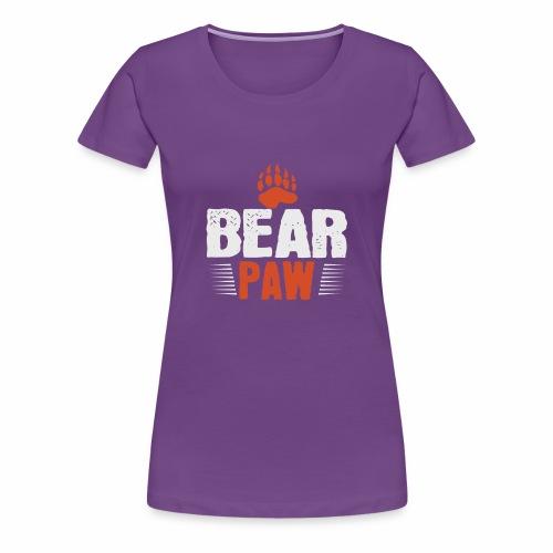 Bear paw - Women's Premium T-Shirt