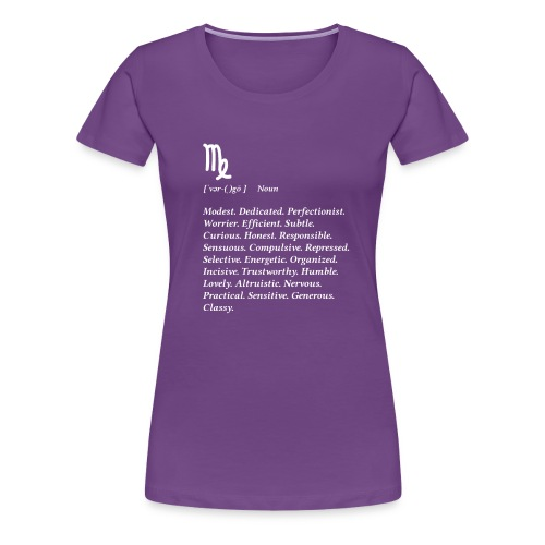 Virgo Zodiac Tee - Women's Premium T-Shirt