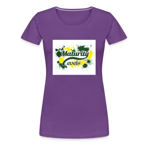 Maturity Levels Logo - Women's Premium T-Shirt