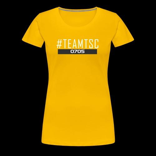 TeamTSC 01b - Women's Premium T-Shirt