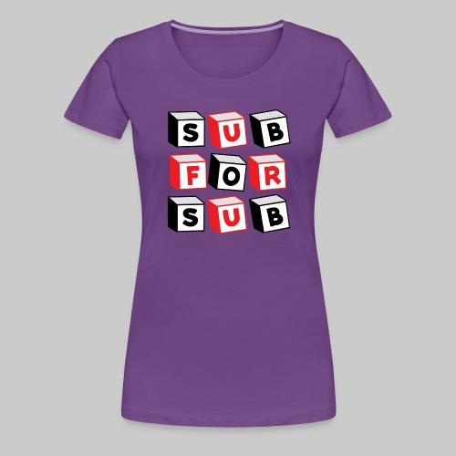 S4S BLOCKS - Women's Premium T-Shirt