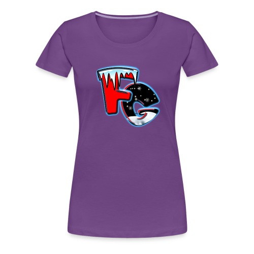 New Freezer Gang LOGO - Women's Premium T-Shirt