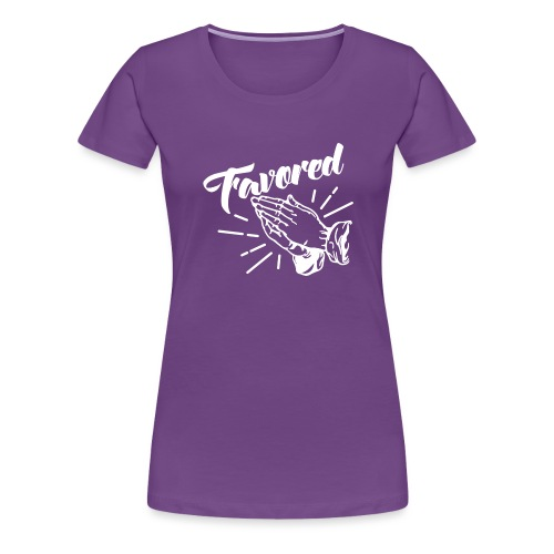Favored - Alt. Design (White Letters) - Women's Premium T-Shirt