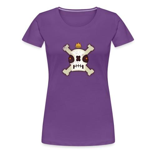 Skull King - Women's Premium T-Shirt