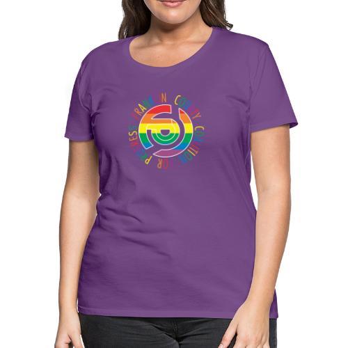 FCCP logo Pride - Women's Premium T-Shirt