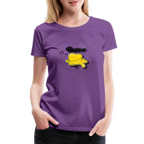 Butter bts - Women's Premium T-Shirt