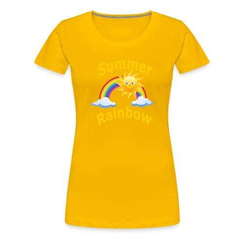 Summer Rainbow - Women's Premium T-Shirt