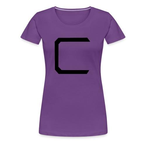 Cyberonic Logo Black - Women's Premium T-Shirt