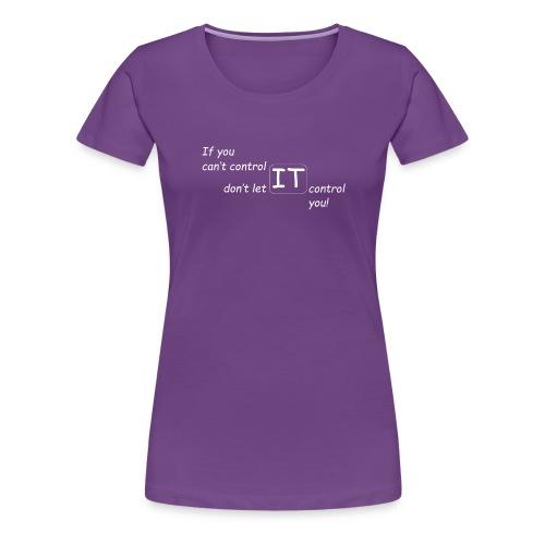 The Control Design Collection - Women's Premium T-Shirt