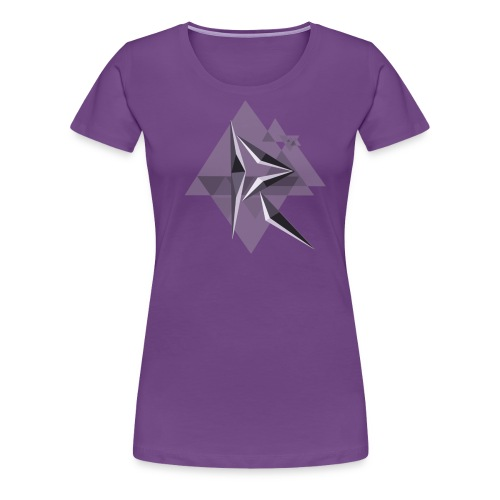 MRH Tri-Glitch - Women's Premium T-Shirt