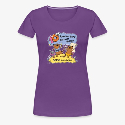 SCBWI 2018 (5) - Women's Premium T-Shirt