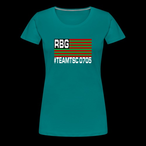 TeamTSC RBGFlag 2 - Women's Premium T-Shirt