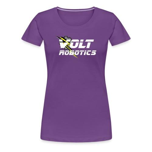 VOLT Robotics White Logo - Women's Premium T-Shirt