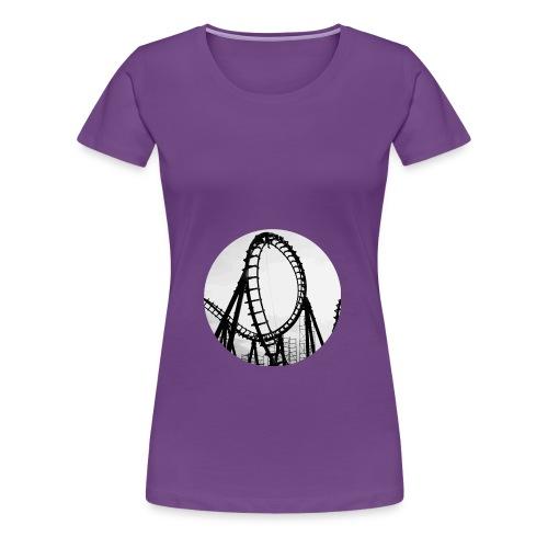 Rollercoaster Career Chan - Women's Premium T-Shirt