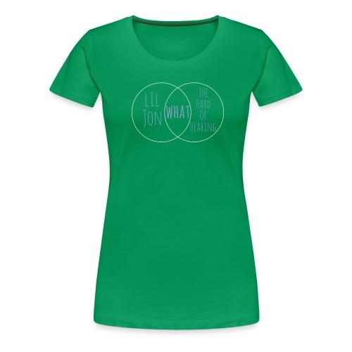 Venn Diagram: Lil Jon L - Women's Premium T-Shirt