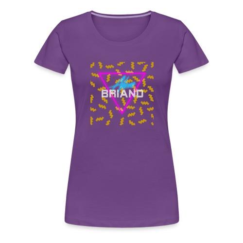 Retro Logo - Women's Premium T-Shirt