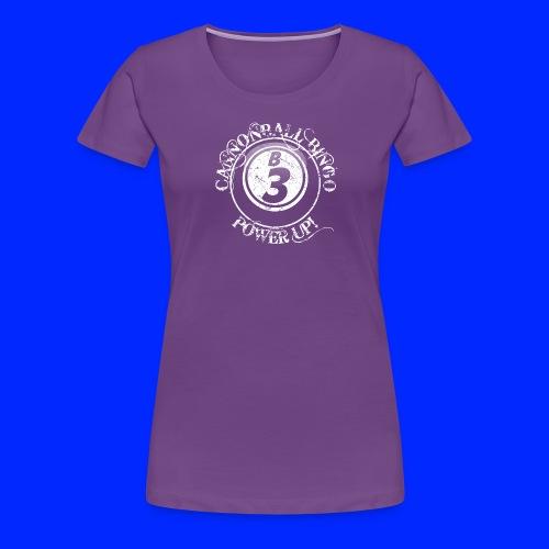 Vintage Cannonball Bingo Ball Tee - Women's Premium T-Shirt