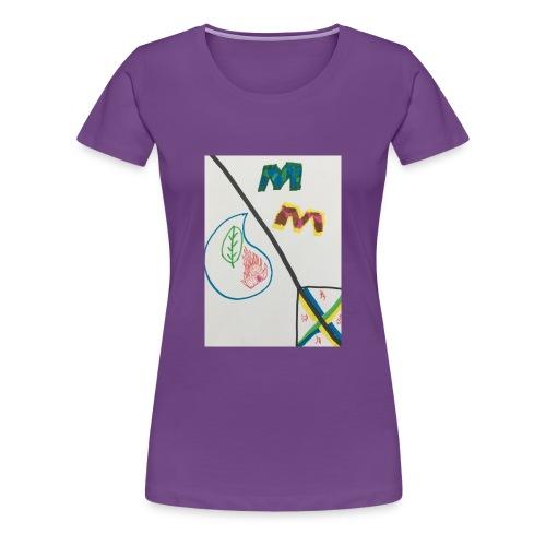 5803ED3E 050E 4D2B 9E1F DF85B5E0E0A2 - Women's Premium T-Shirt