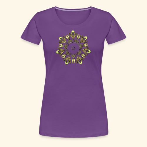 Celtic Motif - 3 - Women's Premium T-Shirt