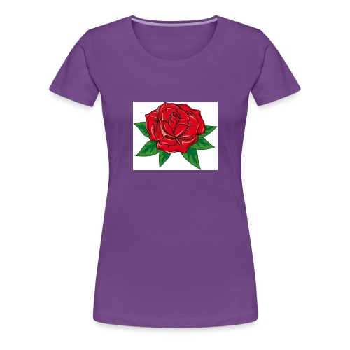 Rose Love Series 3 - Women's Premium T-Shirt