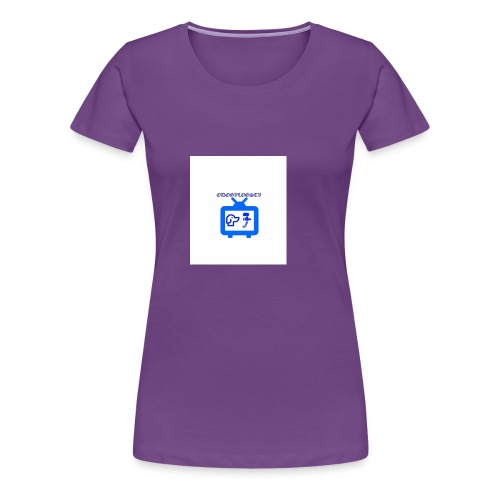 OdogVlogsTv Offical Logo - Women's Premium T-Shirt