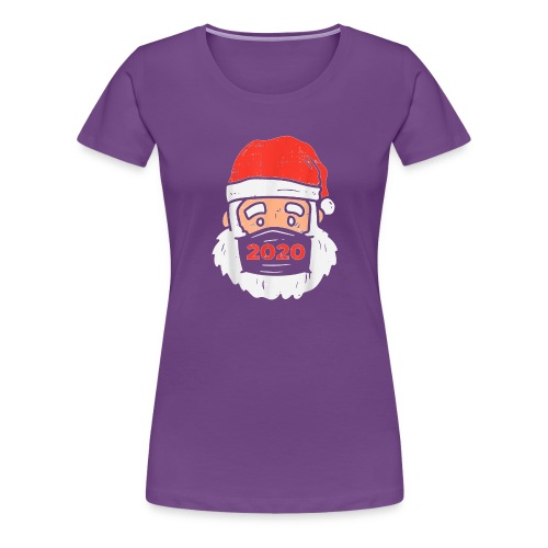 Merry Christmask - Women's Premium T-Shirt