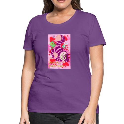 Cheshire Cat - Women's Premium T-Shirt