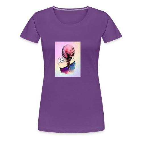 b1813b29cd96b0fca0a5c345956effaa cute drawings dr - Women's Premium T-Shirt