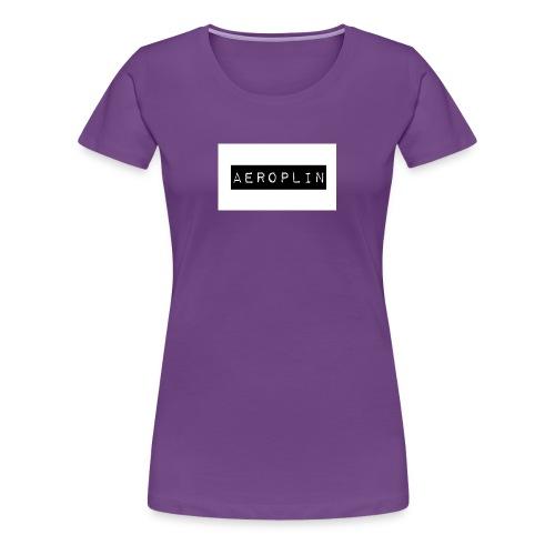 Aeroplin Merch Logo - Women's Premium T-Shirt