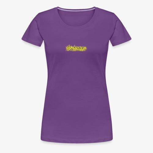Goldenskul - Women's Premium T-Shirt