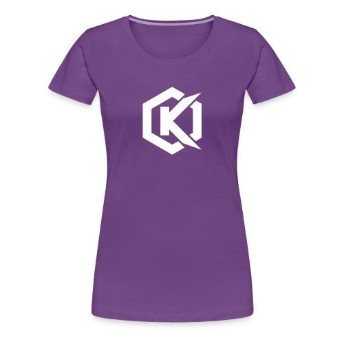 Logo de Kunsel sur Twitch et Ylutube - Women's Premium T-Shirt