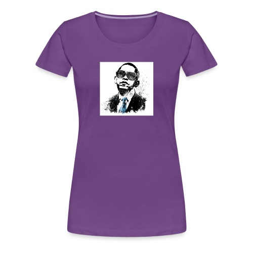 Awesome Obama - Women's Premium T-Shirt