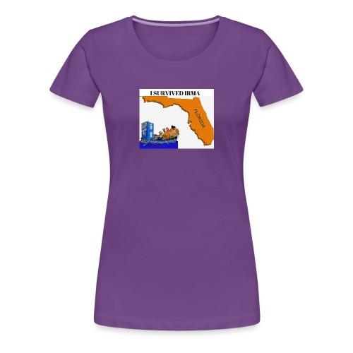 I Survived Irma - Women's Premium T-Shirt