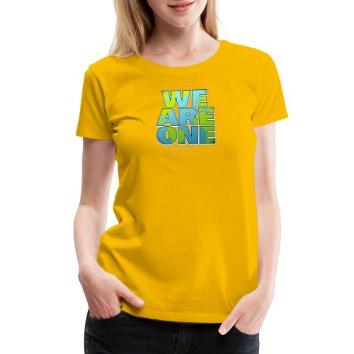 We are One png - Women's Premium T-Shirt