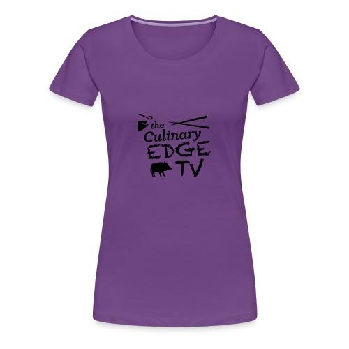 CETV Black Signature - Women's Premium T-Shirt